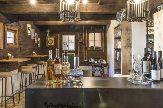 Our Bar in the restaurant in Flachau